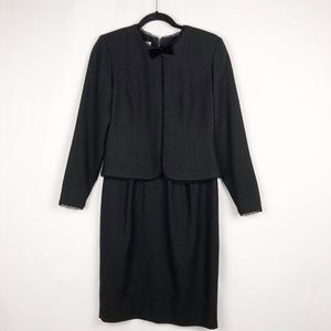 Talbots Black Dress/Suit in Size 4